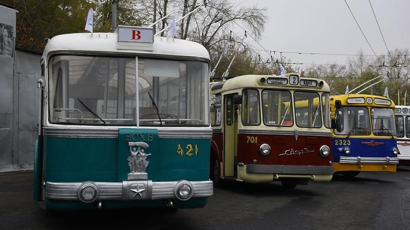 В столицеРФ первого октября состоится пробег троллейбусов