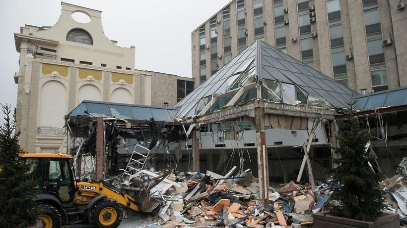 Почему сносят торговый центр пирамида фото