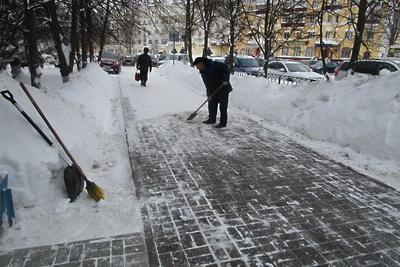 Коммунальные службы Люберец работают в усиленном режиме после снегопада