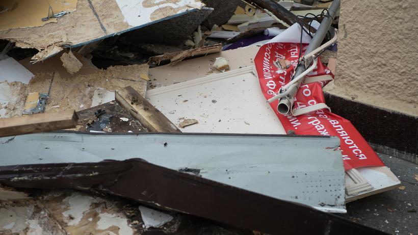 Недостроенный жилой дом ликвидировали в Талдомском городском округе