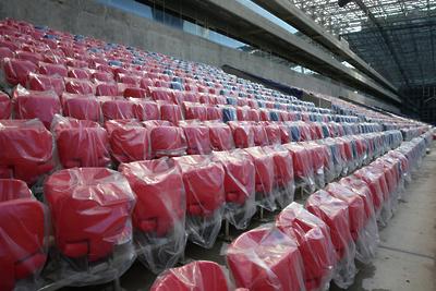 Стадион в Яхроме Дмитровского района начнут реконструировать в апреле 2017 года