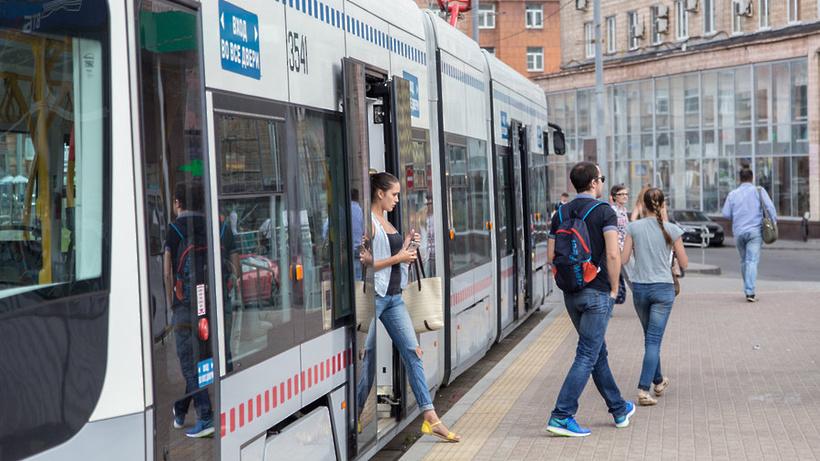 «Мосгортранс» закупит 150 трехсекционных трамваев