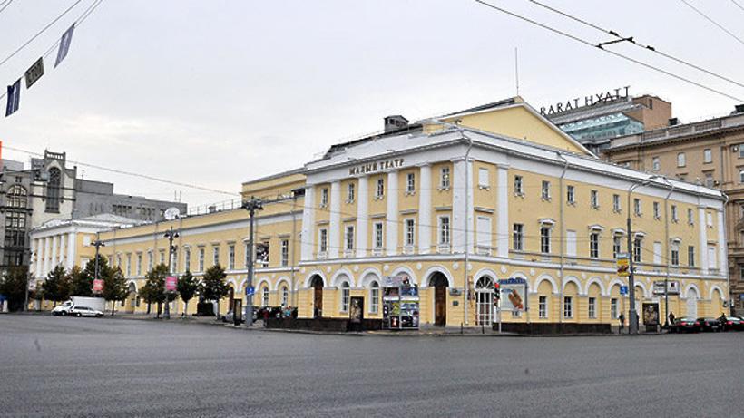 Небольшой театр откроется после реконструкции вконце ноября