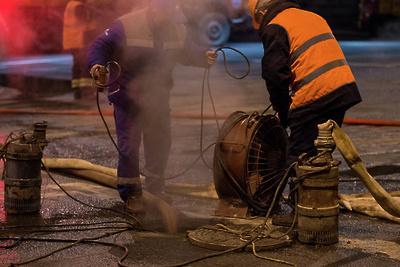 УК восстановила теплоизоляцию трубопроводов жилого дома в Ступине