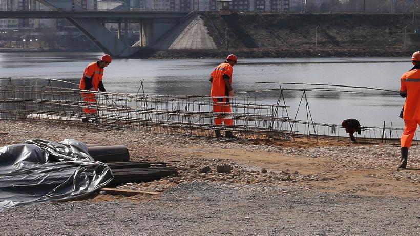 Глубину Москвы-реки научились определять своздуха