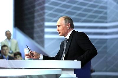 Путин заявил, что Россия не хочет влиять на выборы президента Франции
