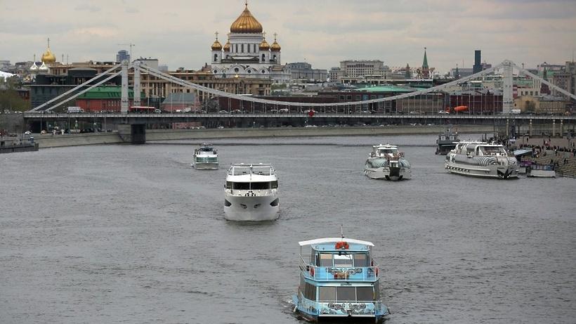 Сезон зимней пассажирской навигации наМоскве-реке открывается встолице