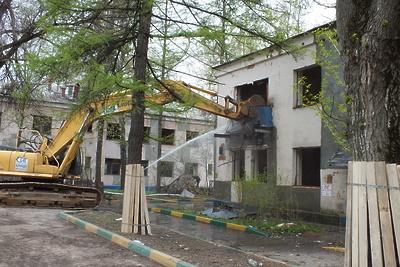 В Люберцах начали снос четырех бараков в микрорайоне 1А