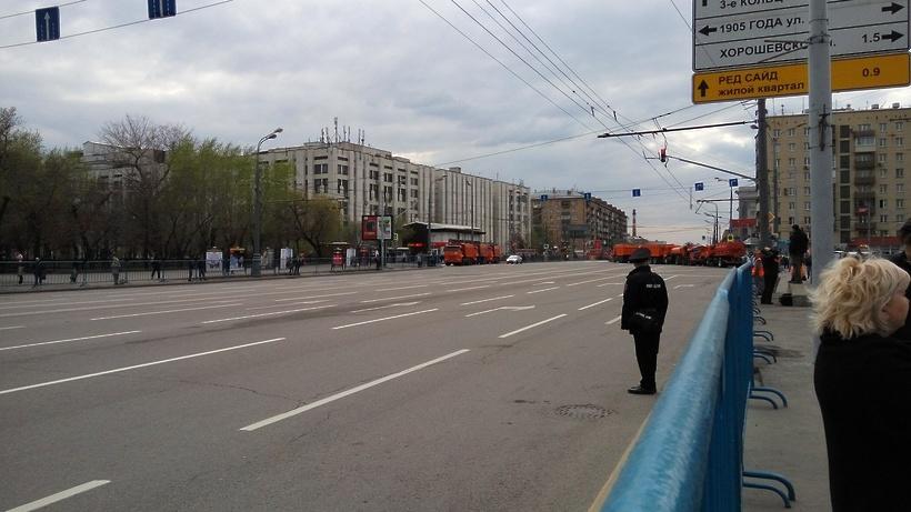 В столице России  навсе 100%  перекроют несколько улиц