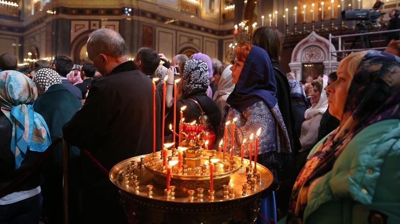 Около млн жителей столицы примут участие впасхальных богослужениях
