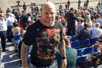 Боец ММА Джефф Монсон провел тренировки по грепплингу для жителей Красногорска