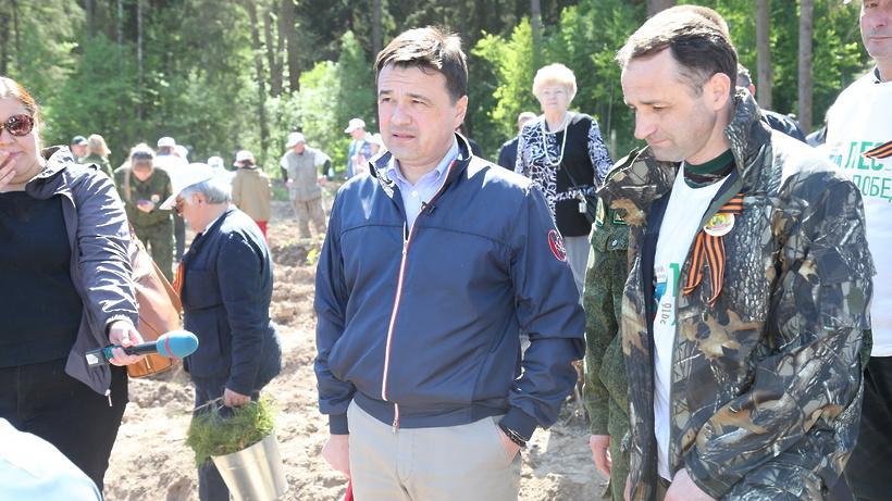 «Лес Победы— 2017»: названо место высадки деревьев вСергиево-Посадском районе
