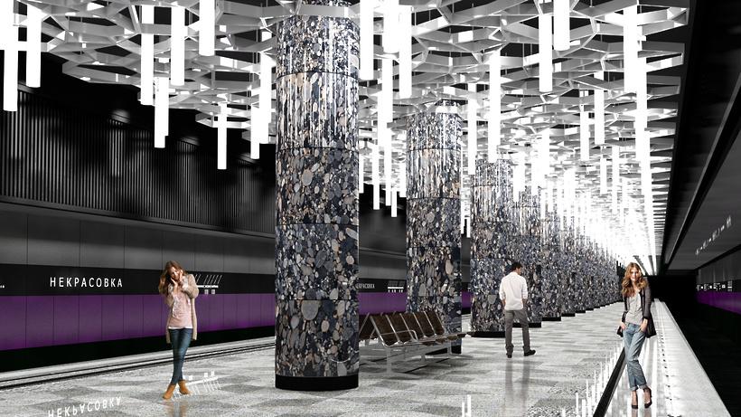 1-ый участок 2-го кольца метро «поедет» спассажирами косени