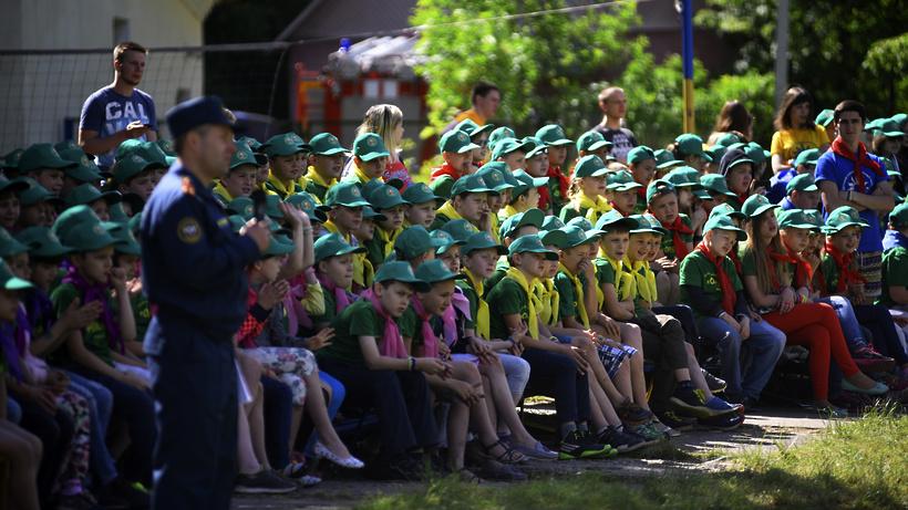 Влетних лагерях Подмосковья передохнут около 150 тыс. детей