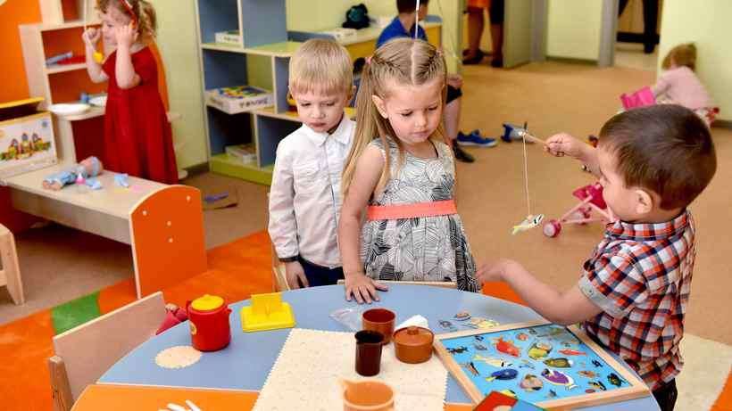 Очереди вПодмосковные детские сады уменьшились вдвое