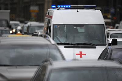 Движение перекрыли в обе стороны на трассе в Щелкове из‑за ДТП с грузовиком