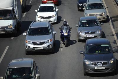 Пробки образовались на улицах в центре Подольска