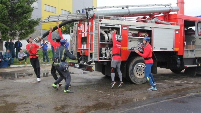 Сборная Коломны получила Кубок губернатора Подмосковья по пожарно‑спасательному спорту