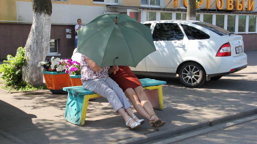 Из-за непрекращающихся дождей продажи зонтов в Российской Федерации увеличились вдвое