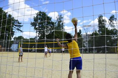 В Люберцах наградили победителей турнира по пляжному волейболу