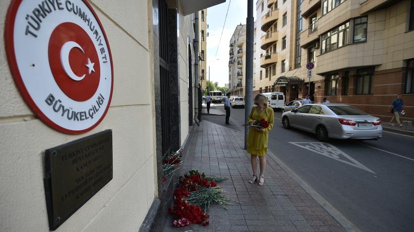 Траурная акция пройдет упосольства Турции в российской столице всреду