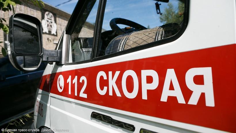 Троллейбус попал вкрупное ДТП в столице