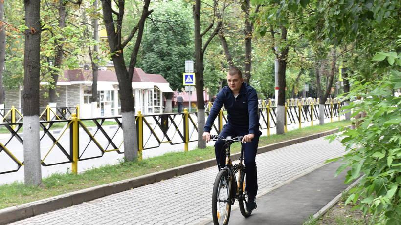 Жителям Подмосковья рассказали о развитии велоинфраструктуры