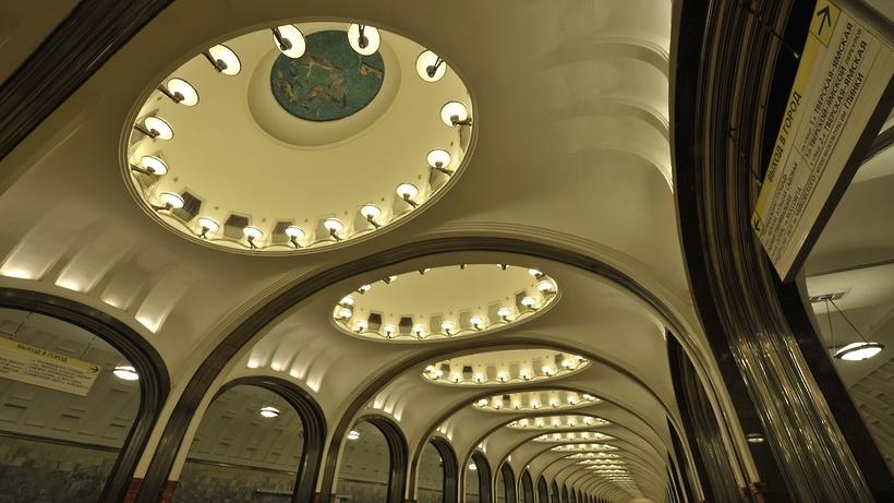 Центральную часть Замоскворецкой линии метро закроется насутки 9октября