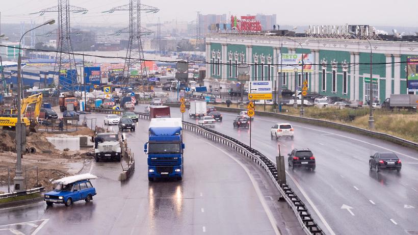 Натрассе Солнцево— Бутово— Видное установили конструкции путепроводов