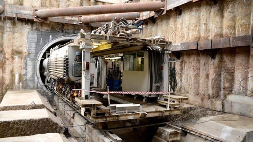Неповторимый тоннелепроходческий щит начал строительство двухпутного метро— Хуснуллин