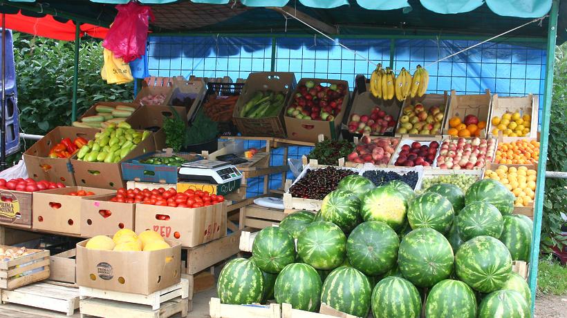 Овощи ифрукты упали вцене вПодмосковье