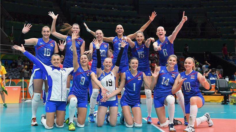 Японские волейболистки победили камерунок наОлимпийских играх вРио-де-Жанейро