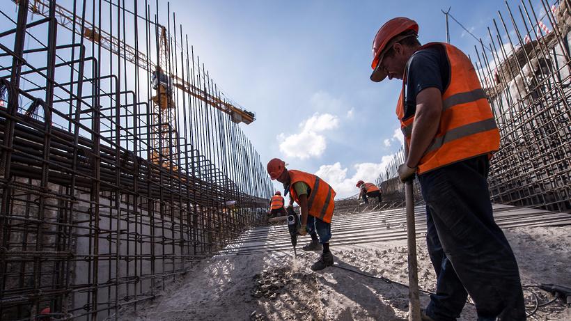В новейшей российской столице построили 10 млн «квадратов» за 4 года