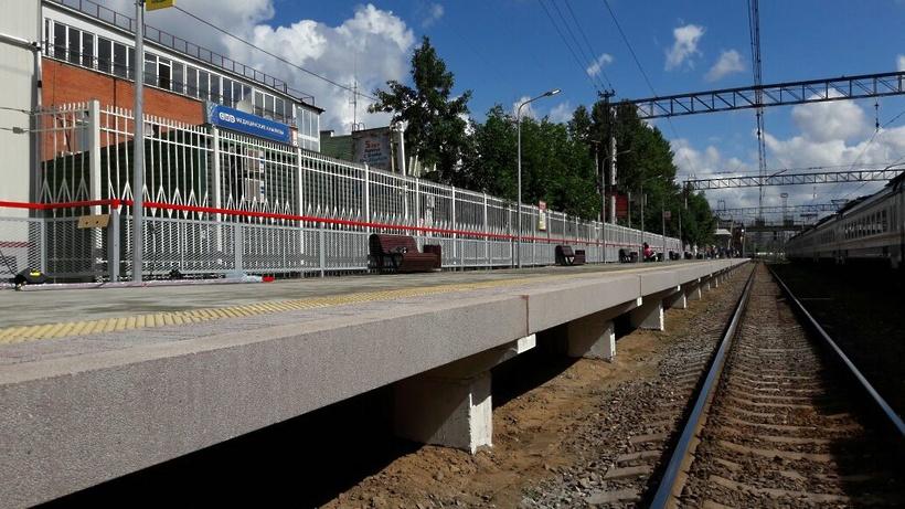 Электричкам Белорусского направления изменят расписание из-за ремонта платформы вОдинцово