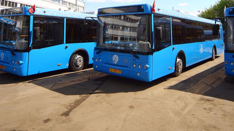 Московский автобусный парк помолодел ввосемь раз