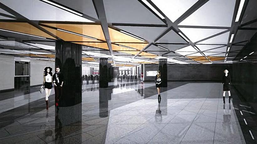Собянин осмотрел ход возведения «Юго-Восточной» станции метро Кожуховской линии