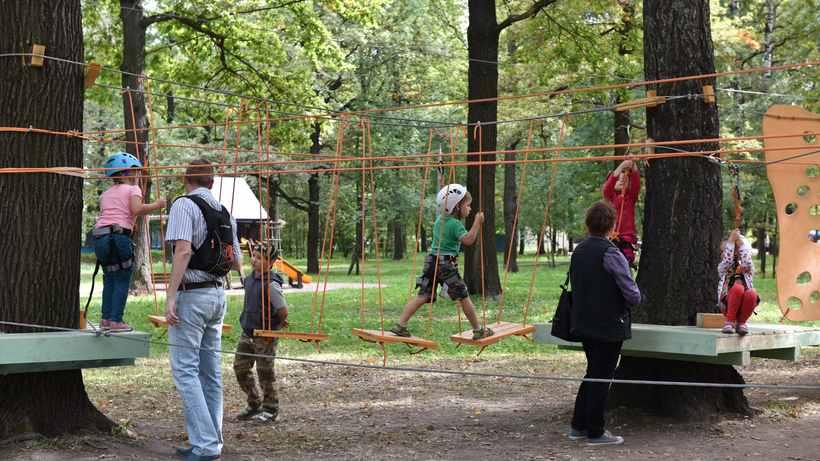 Триста восемьдесят миллионов рублей потратят на благоустройство существующих и создание новых парков...