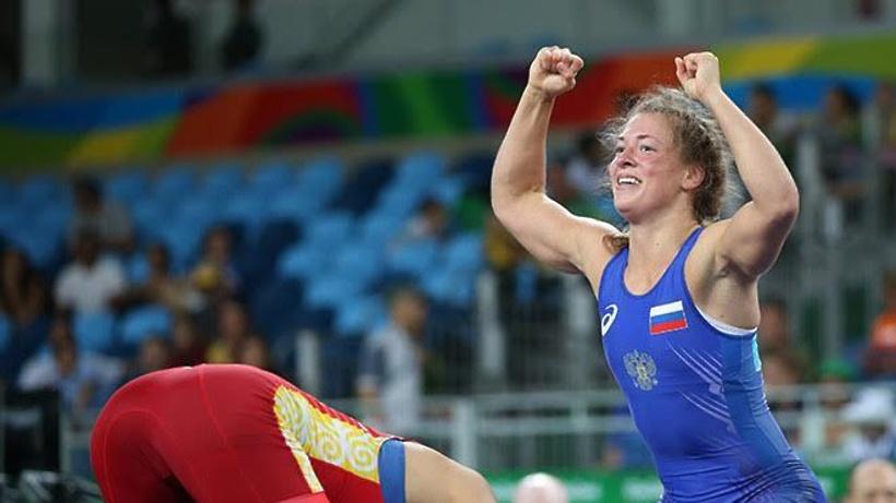 Россиянка Коблова вышла вфинал олимпийского турнира поженской борьбе