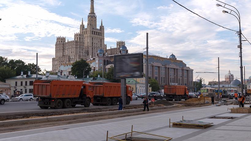 Новый поворот наГоголевский бульвар откроют 27августа