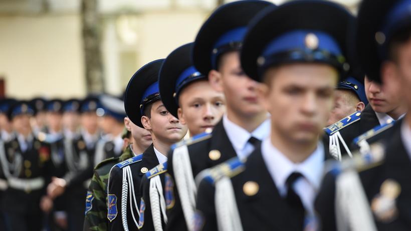 С минувшего года кадетские классы открылись в124 школах столицы