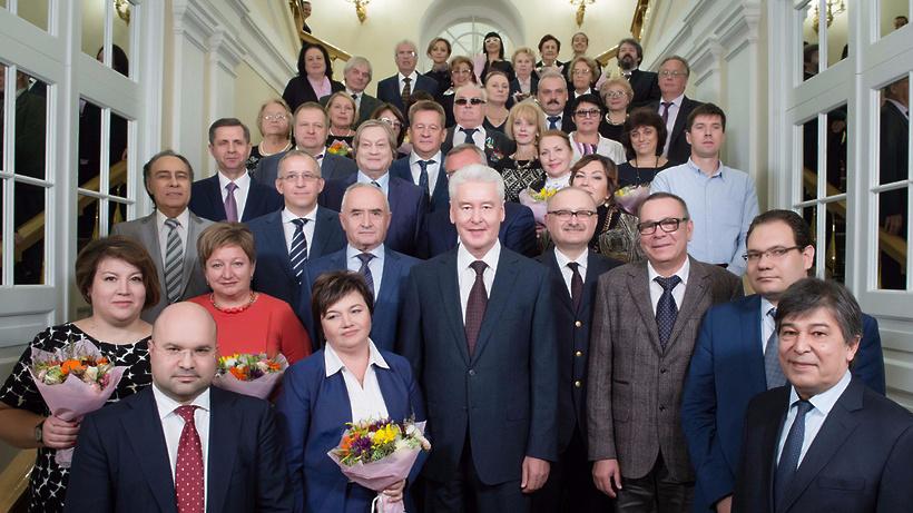 Собянин вручил жителям столицы государственные медали инаграды Москвы