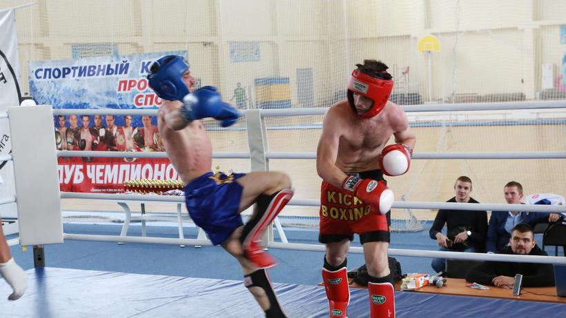 Илья Соколов одержал победу Кубок Российской Федерации покикбоксингу