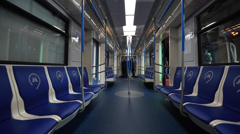 Поезда обновленного поколения «Москва» запустят пофиолетовой ветке метро