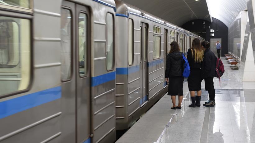 Насерой ветке московского метро из-за смерти пассажирки остановлено движение поездов