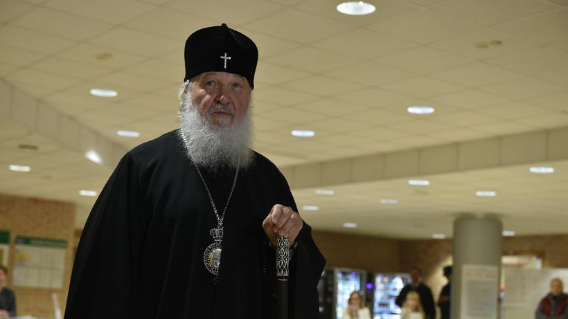 Патриарх Кирилл проголосовал наизбирательном участке вОдинцове