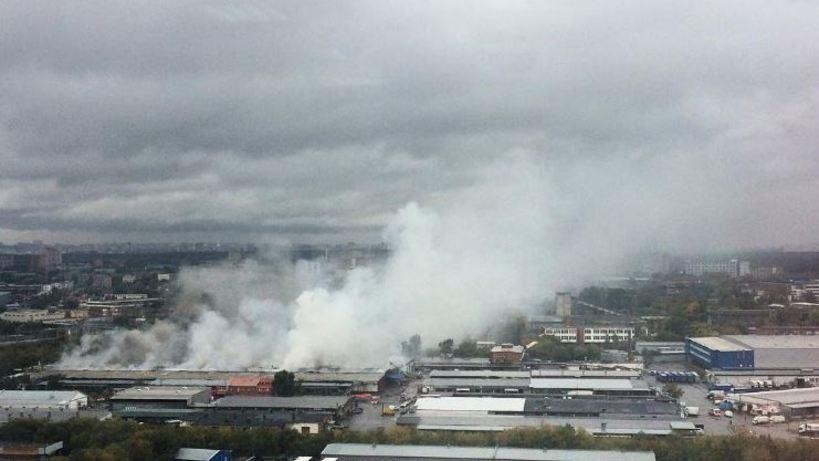Качество воздуха врайоне пожара навостоке столицы соответсвует санитарным нормам