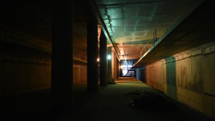 Станцию московского метро «Нагатинский затон» планируют построить наберегу реки