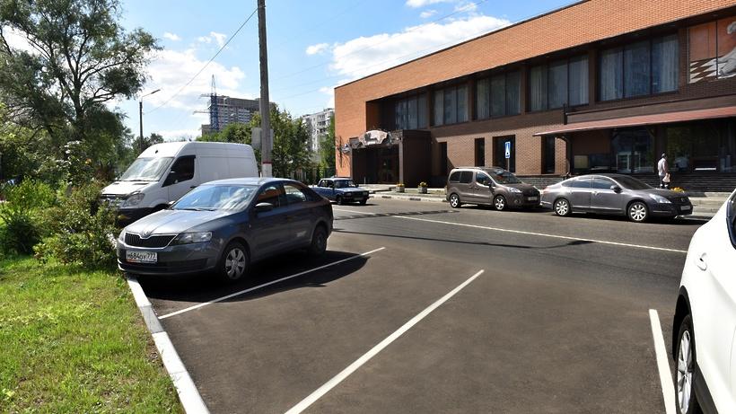 Недостаток парковок вМосковской области оценивается вполмиллиона мест