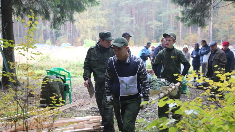 НаБрянщине соревновались молодые лесоводы