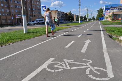 По новым велодорожкам в Подольске можно будет доехать из центра в микрорайон Климовск